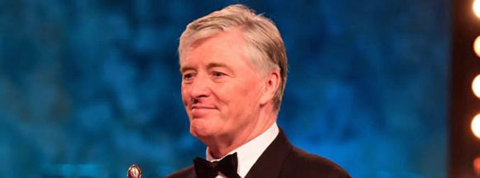 Pat Kenny takes Lifetime Achievement Award at IFTA ceremony