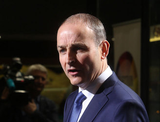 "Martin claims Fianna Fáil have blocked ""increasingly right wing"" government agenda"