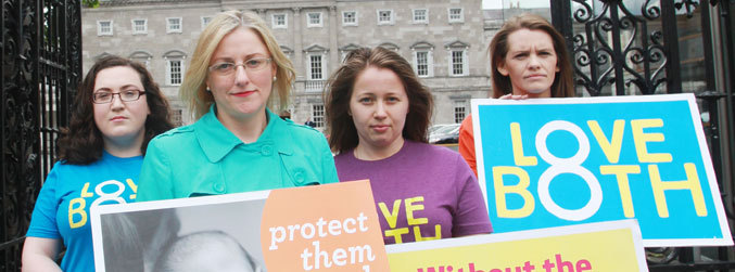 A referendum on the 8th amendment would not pass, group claims