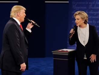 Social media reacts to second US presidential debate