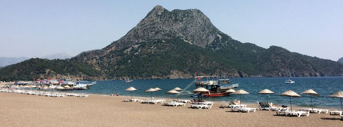 Turkish holiday resort of Antalya is hit by rockets