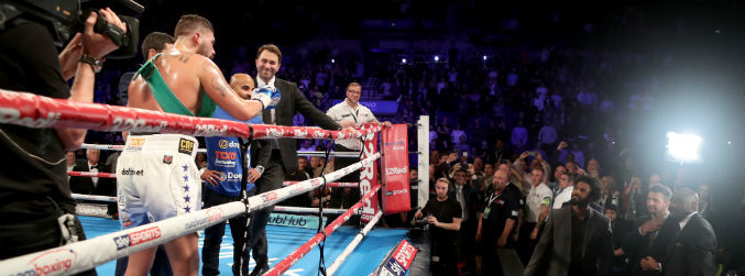 WATCH: Tony Bellew taunts David Haye after World title defence