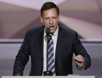 Peter Thiel raises Silicon Valley's ire by donating $1.25m to Donald Trump