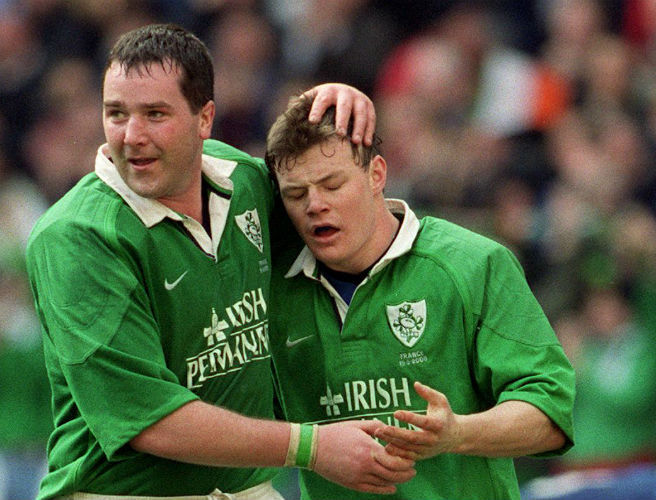 Brian O'Driscoll, Anthony Foley, Ireland