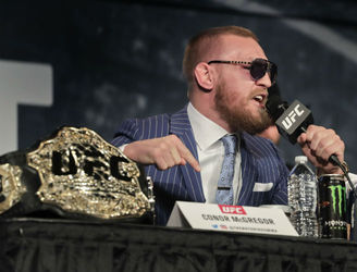 Conor McGregor vows to vacate a belt if he wins at UFC 205