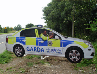 "Kildare has ""no immediate plans"" to re-introduce replica garda car cut-outs"
