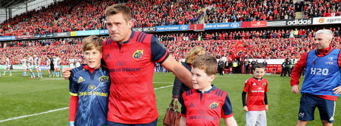 """I'm going to have to play harder, make him proud"" - CJ Stander is ready to honour Anthony Foley on the field"