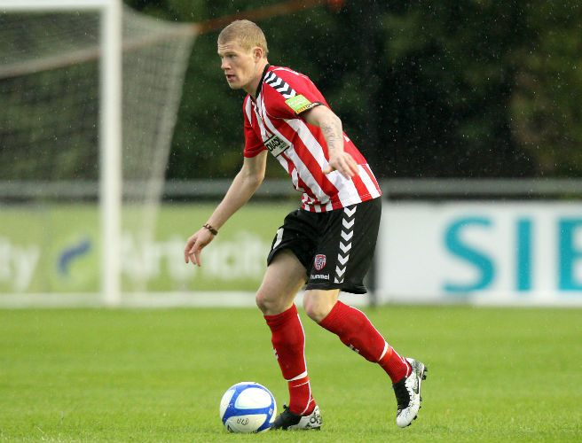 James McClean is not happy with Kenny Shiels' comments on international football