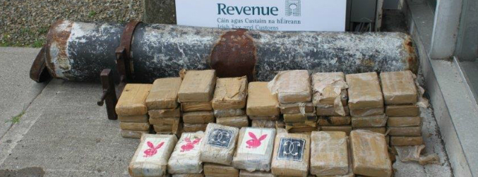 "Cocaine worth €5m found in ""torpedo type"" device"