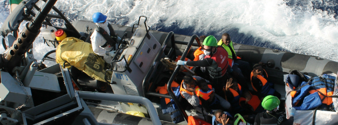 Irish Navy rescues 120 as 2016 is confirmed as deadliest ever year for migrants in Mediterranean