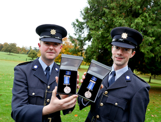 Irish heroes recognised at National Bravery Awards