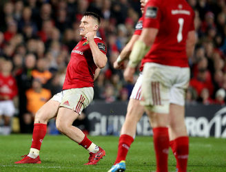Rory Scannell's late drop goal enough to see Munster past Ulster