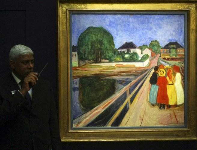 Edvard Munch piece set to fetch €45m at auction