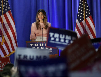 Melania Trump vows to focus on combating cyberbullying if she becomes first lady