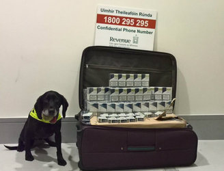 Woman arrested after Revenue seized 28,000 cigarettes at Dublin Airport