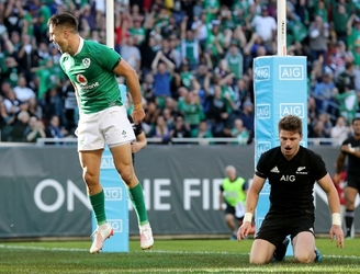Ireland record a historic victory against New Zealand in Chicago