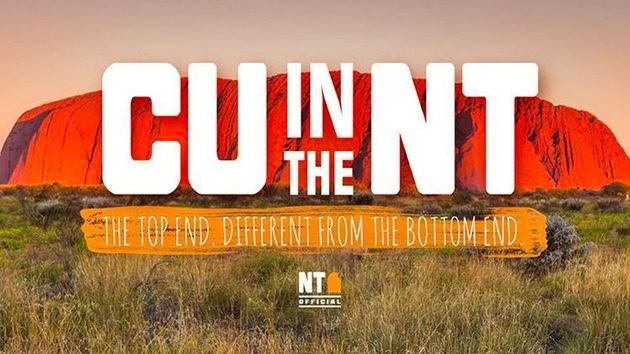 CU in the NT is Australia's Northern Territory tourist campaign slogan