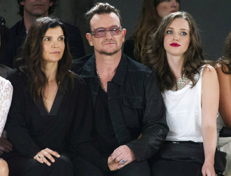 Bono and Ali at a loss with their ethical clothing company