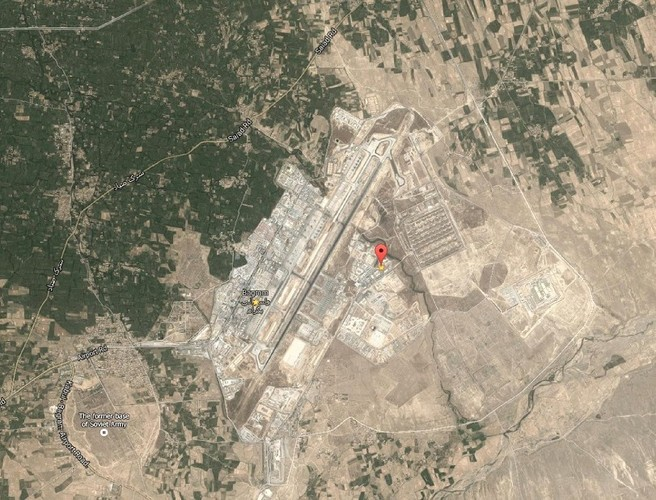 Blast at Afghan airfield kills 4