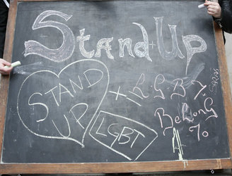 Stand Up Week against homophobic and transphobic bullying gets underway