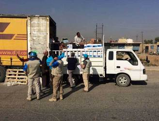 UNICEF delivers aid to Mosul for the first time in over two years