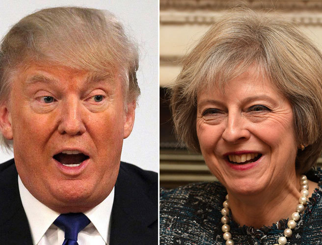 Theresa May begins US charm offensive