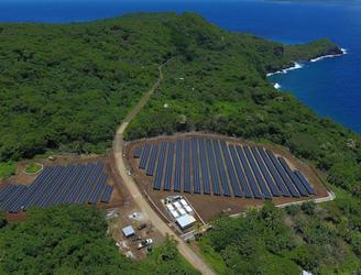 Tesla powers entire pacific island with solar energy