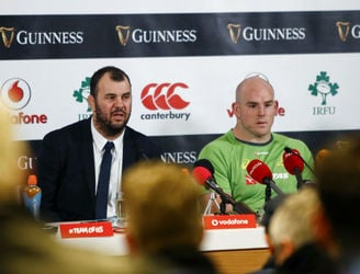 Michael Cheika salutes Ireland performance but shares frustrations about officiating
