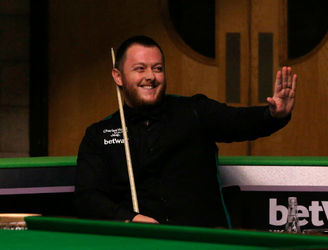 Mark Allen scores his first career 147
