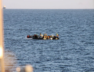 Over 500 migrants rescued by LÉ Samuel Beckett in the Mediterranean