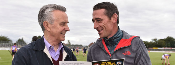 Jim Bolger and Davy Russell's charity hurling matches pass the €500,000 fundraising mark