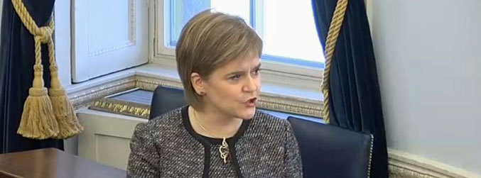 """Scotland is not an independent member state, yet"" - Nicola Sturgeon tells the Seanad"