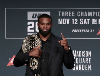 WATCH: Tyron Woodley offers to fight Conor McGregor in Ireland