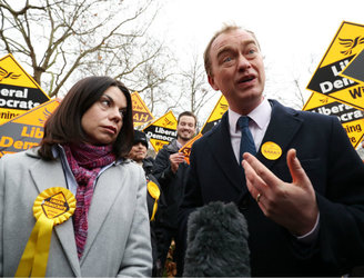 "Liberal Democrats in UK vow to fight against ""hard Brexit"" after by-election win"