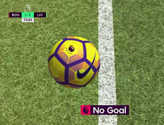 WATCH: Goal-line technology helped Bournemouth beat Liverpool