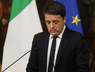 Euro and markets shrug off Italy's Renzi rejection