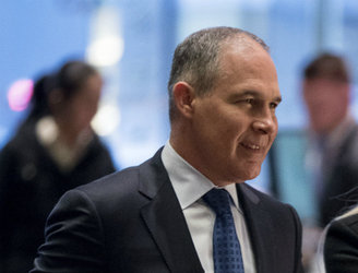 Trump's nomination of climate change sceptic to lead EPA criticised as a 'dangerous choice'