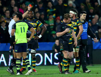 Will Greenwood reacts to Dylan Hartley's reckless challenge on Sean O'Brien