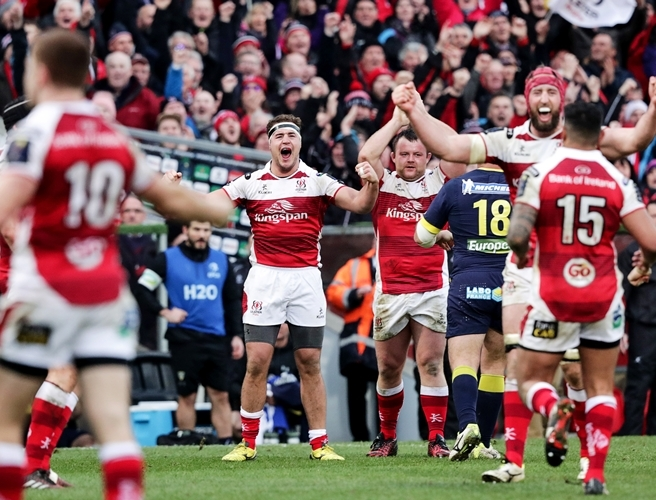 Ulster, Clermont Auvergne,