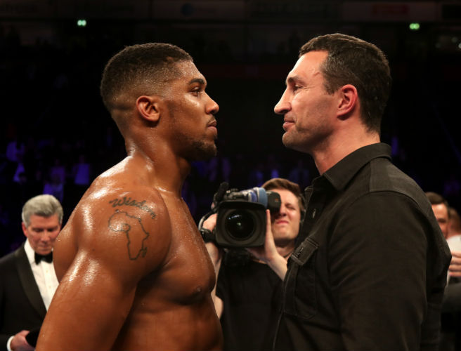 Is Kenneth Egan buying the hype as Anthony Joshua and