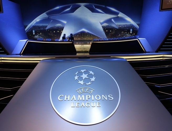 Champions League, draw, UEFA,