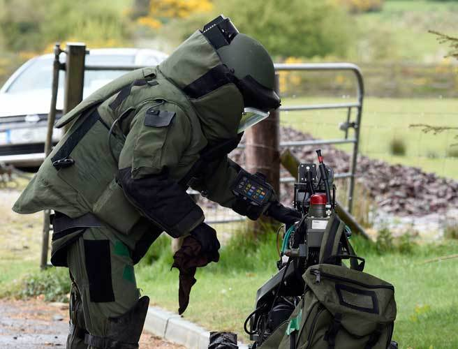 Houses evacuated after munition discovered in Kildare dating from Civil War
