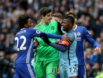 Manchester City and Chelsea fined for failing to control players during Premier League clash