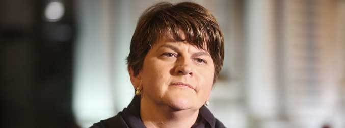 Arlene Foster faces no confidence motion over botched energy scheme