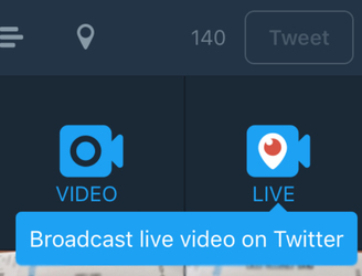 Add live video to your 140 characters as Twitter brings Periscope streaming to its app
