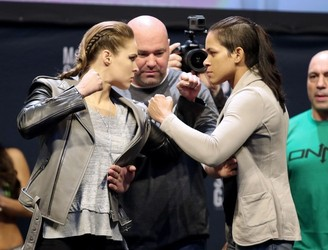 "Ronda Rousey: ""Conor gave me the chance to rest, he took the weight off my shoulders, and I'm grateful."""