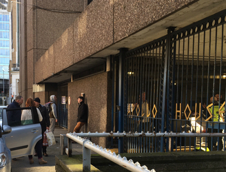 "Apollo House activists say they have received ""overwhelming"" support from the public"