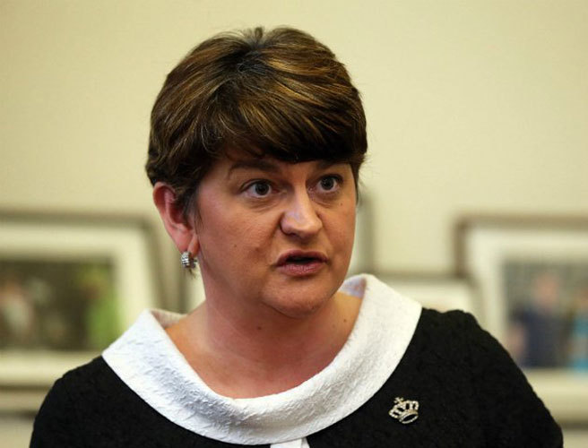 DUP warns border issue could threaten stability of British Government