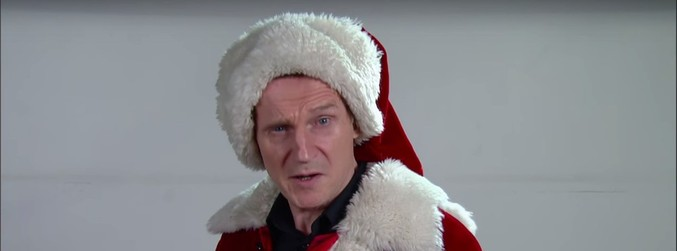 WATCH: Liam Neeson's audition to be a shopping centre Santa Claus