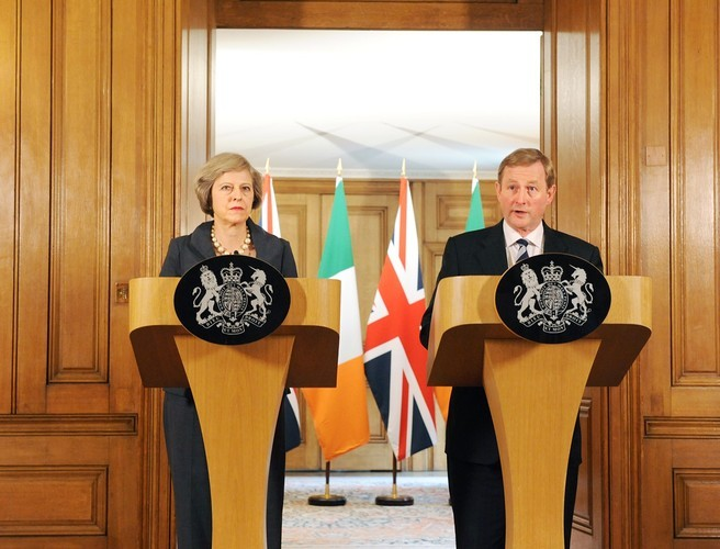 British Prime Minister Theresa May to visit Ireland in New Year